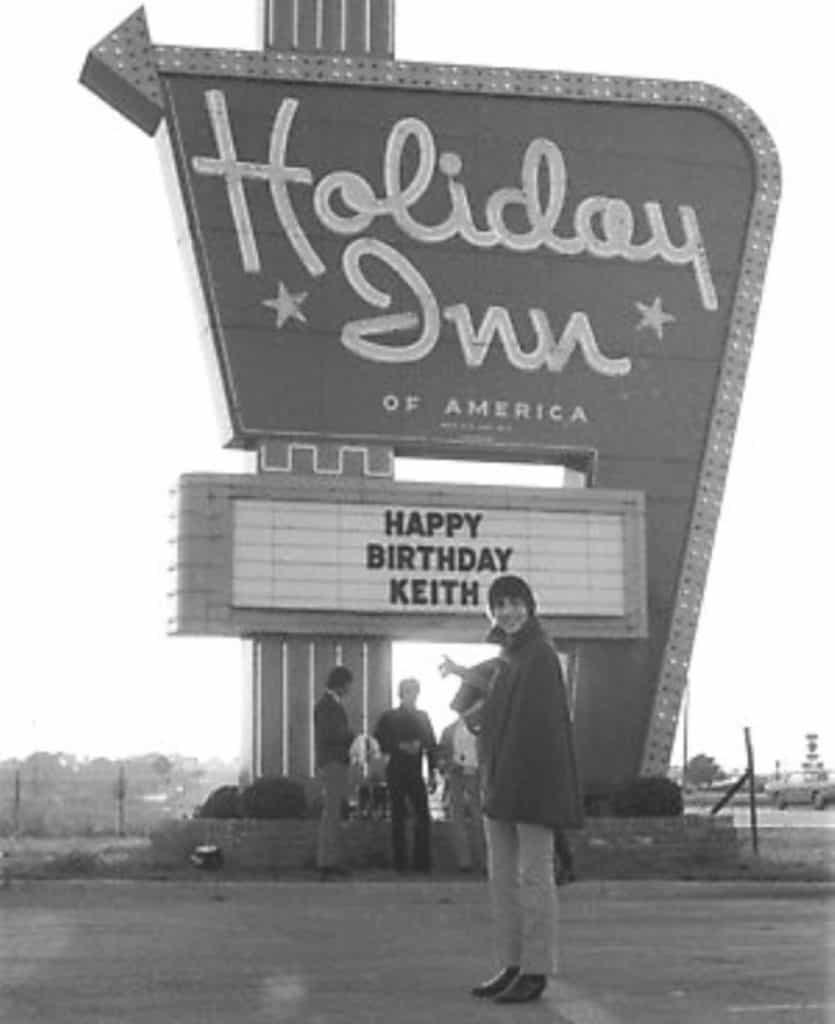 Keith Moon Holiday Inn